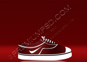 Skate Shoes – PSD Download