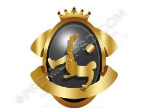 Soccer Shield Vector – PSD Download
