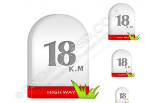 Milestone Icon – PSD Download