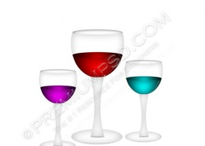 Modern Bar Glass Design – PSD Download