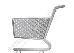 Vector Shopping Trolly – PSD Download