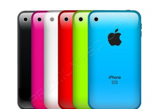 Colorful Apple iPhone Back Side – PSD Download