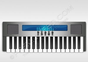 Piano Vector Design – PSD Download
