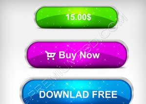 Glossy Download Buttons – PSD Download