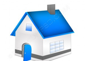House Icon- PSD Download