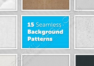15 Seamless Background Patterns