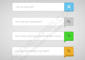 4 Stunning Search Fields and Buttons