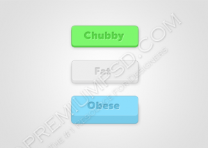 Chunky Web Buttons