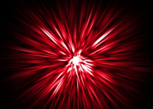 Learn to Create Glowing Laser Burst Background