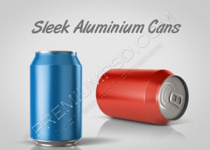 3D Aluminium Can Design