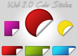 Learn to Create Web 2.0 Color Stickers