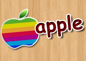 Learn to Create Colourful Apple Wallpaper