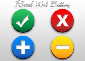 Learn to Create Round Web Buttons