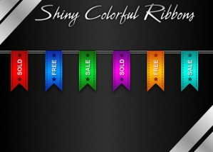 Learn to Create Shiny Colorful Ribbons