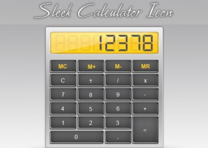 Learn to Create Sleek Calculator Icon