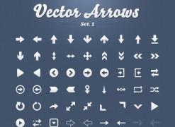 Vector Arrows Set 1