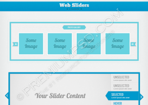 6 Sleek Web Sliders