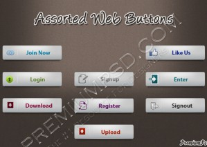 Assorted Web Buttons Pack