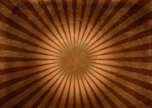 Learn to Create Brown Vintage Sunbeam Background