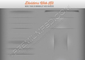 Dividers Web Kit