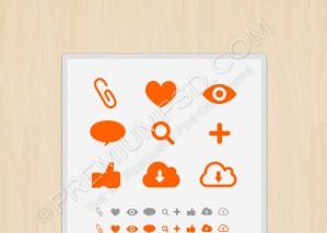 Meta icon set