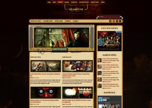 Steampunk Web Template