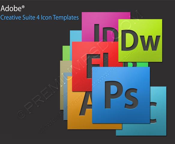 Adobe Creative Suite 4 Icons