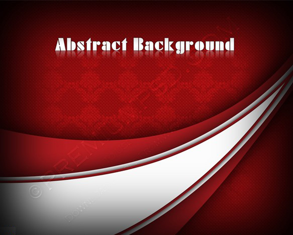 Abstract Swirl red background