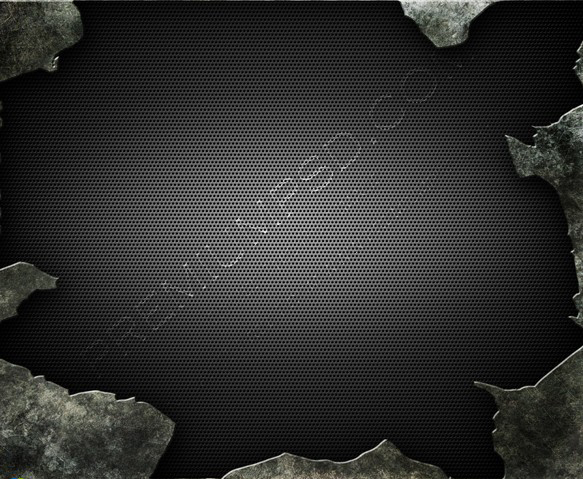 Cracked Metallic Background
