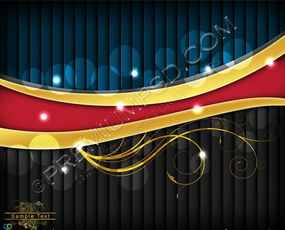 Shiny Vector Illustration Background