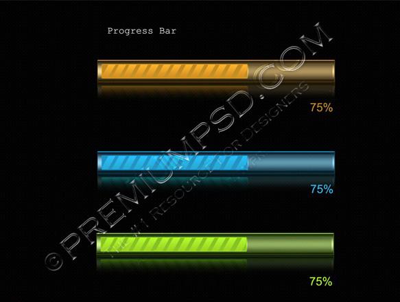 3D Progress Bar