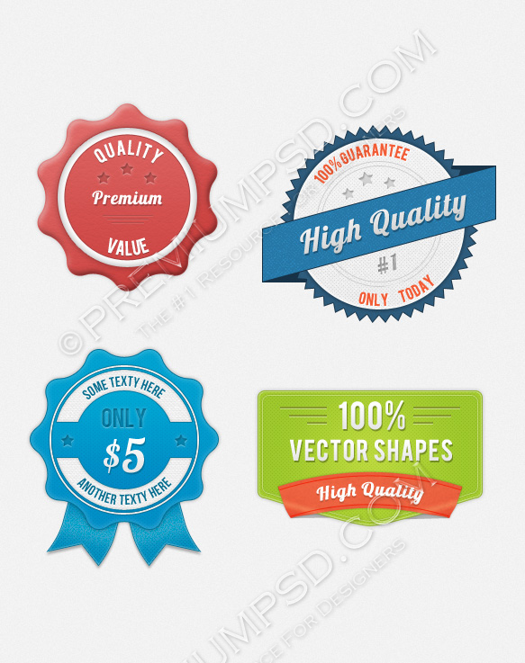 web badge pack1