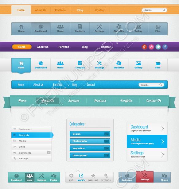 web-navigation-pack1
