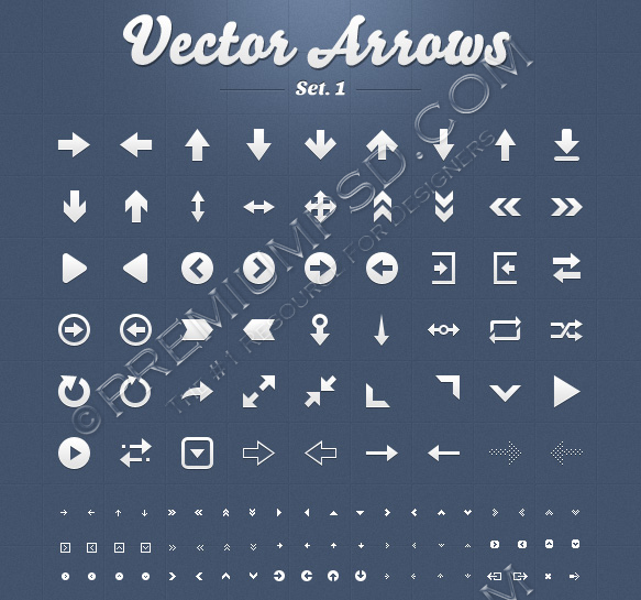 vector icons set 1