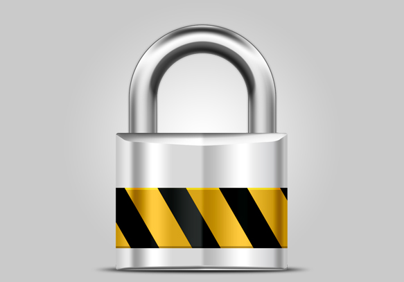Metallic-shiny-Lock-icon_featured