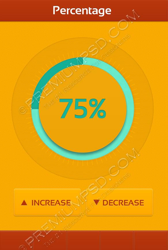 app-design-ui-percentage