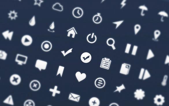 500+ icon sets