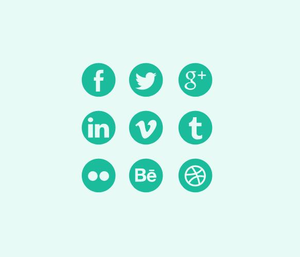 flat-social-media-icons